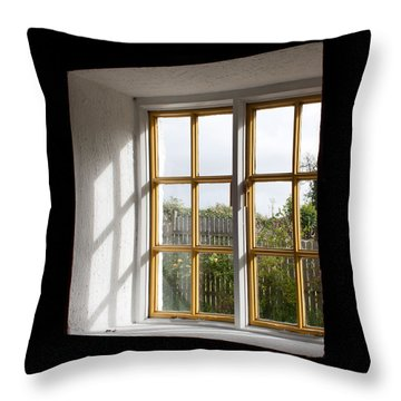 Window  Throw Pillow by Semmick Photo