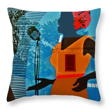 Throw Pillow featuring the photograph Window To My Soul by Barbara McMahon