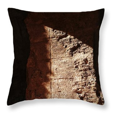 Window To The Shadows Throw Pillow