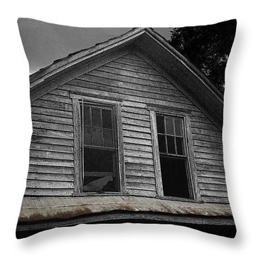 Windows In The Soul Throw Pillow by Cris Hayes