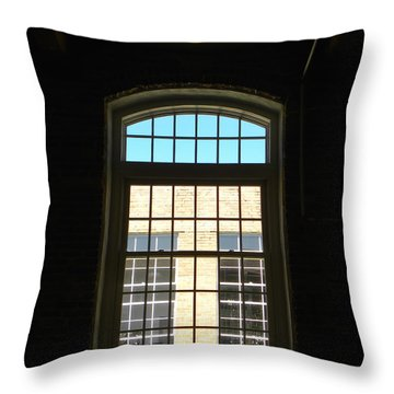 Windows  Throw Pillow by Sandi OReilly