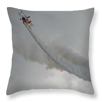 Wing Walker Throw Pillow