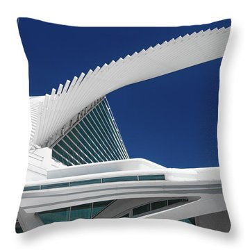 Wings Wide Open Throw Pillow