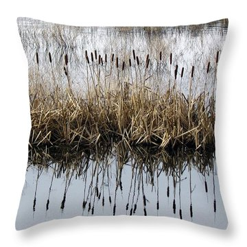 Throw Pillow featuring the photograph Winter Bouquet by I'ina Van Lawick