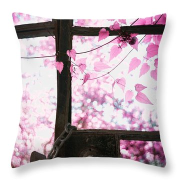 Winter Morning Throw Pillow by Stelios Kleanthous
