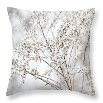 Winter Sight Throw Pillow