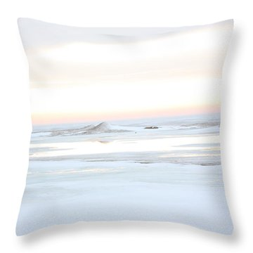 Winters Bright Light Throw Pillow