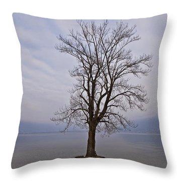 Wintertree Throw Pillow by Joana Kruse