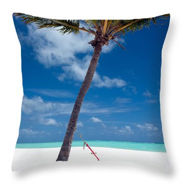 Throw Pillow featuring the photograph Wish You Were Here by Karen Lee Ensley