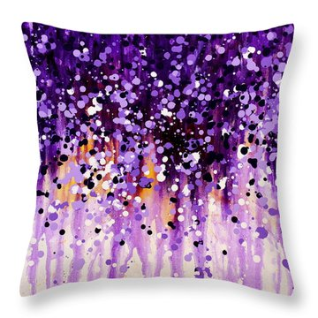 Wisteria Throw Pillow by Kume Bryant