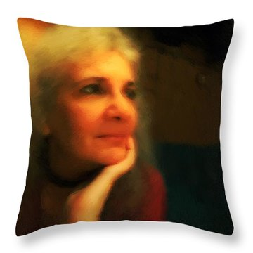Wistful Throw Pillow by RC DeWinter