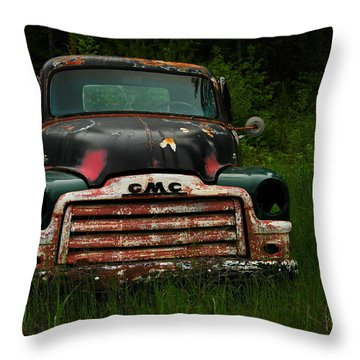 With Both Eyes Poked Out Throw Pillow by Jeff Swan