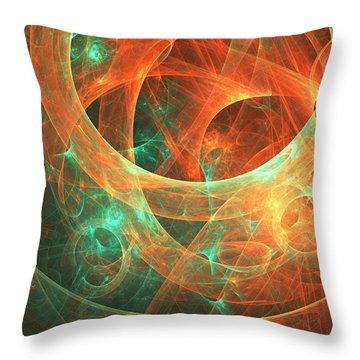 Within Throw Pillow by Lourry Legarde