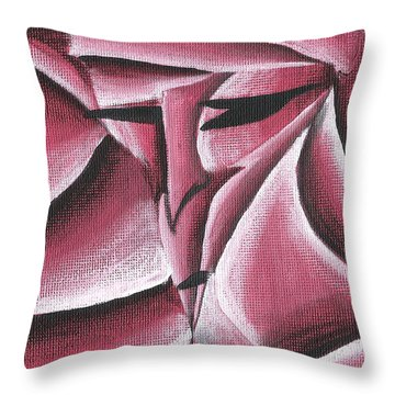 Within The Rox Throw Pillow by Jera Sky