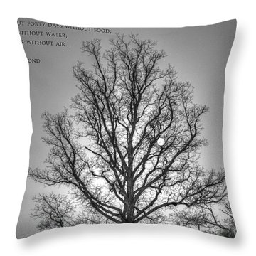 Without Hope... Throw Pillow