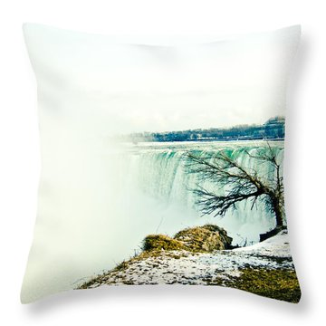 Throw Pillow featuring the photograph Wonder by Sara Frank