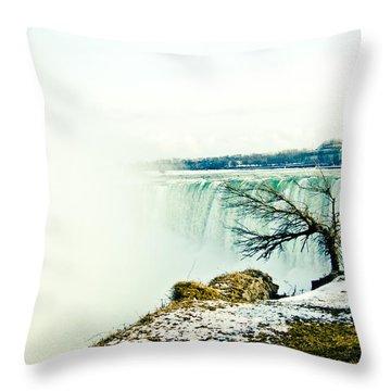 Wonder Throw Pillow by Sara Frank