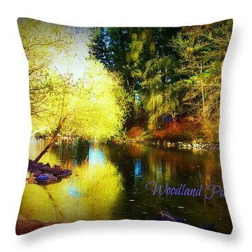 Woodland Park Throw Pillow