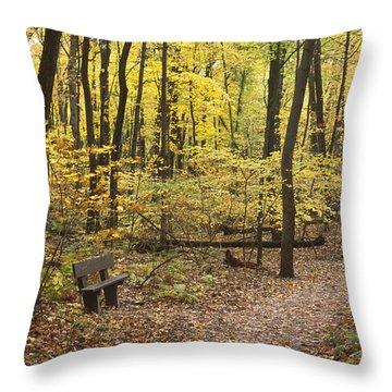Woodland Respite Throw Pillow