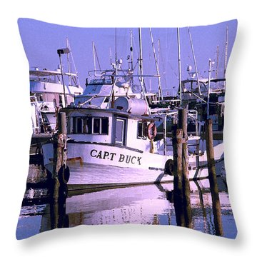 Throw Pillow featuring the photograph Work At Rest by Brian Wright