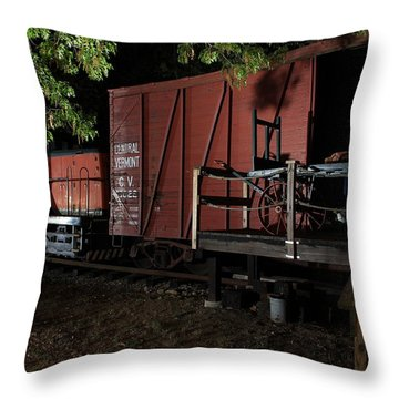 Working On The Railroad 2 Throw Pillow