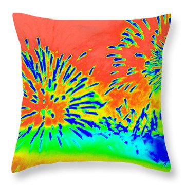 Works 14 Throw Pillow by Randall Weidner