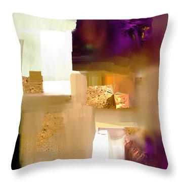 Workspace - Nb 1 Throw Pillow