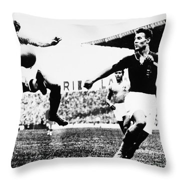 World Cup, 1938 Throw Pillow by Granger