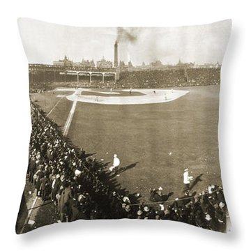 World Series, 1906 Throw Pillow by Granger