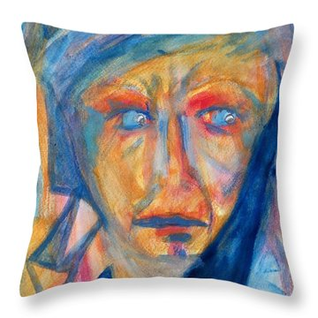 Worry - Weep - Scream Throw Pillow
