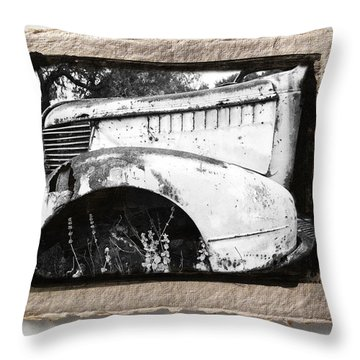 Wreck 2 Throw Pillow by Mauro Celotti