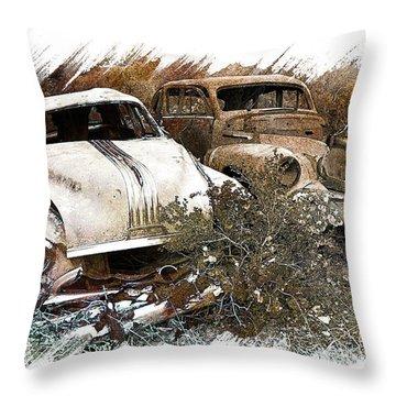 Wreck 3 Throw Pillow