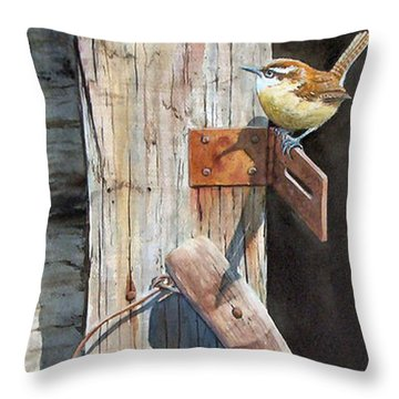 Wrental Property Sold Prints Available Throw Pillow