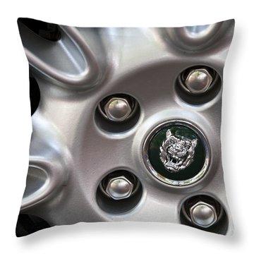 Xjs Wheel Throw Pillow by Dennis Hedberg