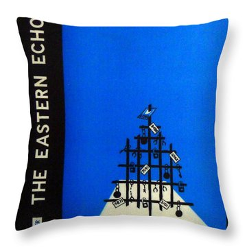 Xmas Cheer From The Inside Throw Pillow by Richard Reeve