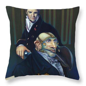 Yak Andrew Bienstjalk Throw Pillow