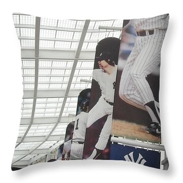 Yankee Flags Throw Pillow