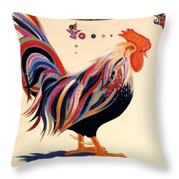 Yard Boss Throw Pillow by Bob Coonts