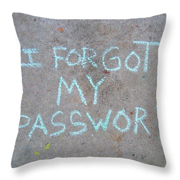 Yes I Did Throw Pillow