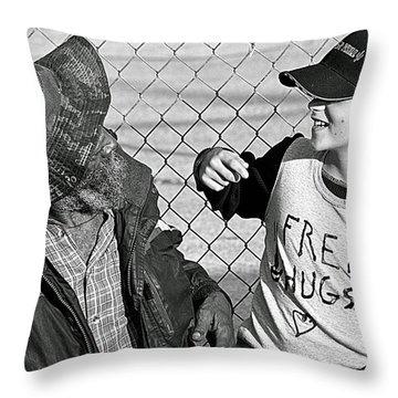 Yesterday - Tomorrow Throw Pillow