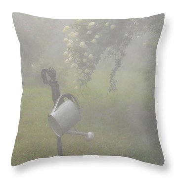 Yesterday Throw Pillow by Diannah Lynch