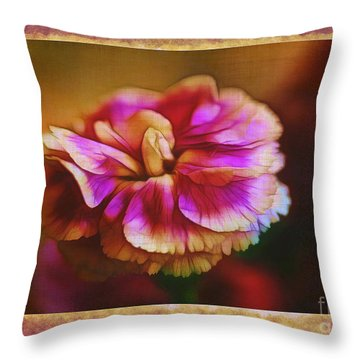 Yesterday Throw Pillow by Judi Bagwell