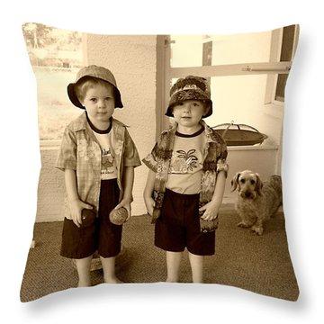 Yesterday's Children Throw Pillow