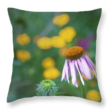 Throw Pillow featuring the photograph Yet Another Flower by John Crothers
