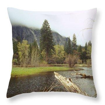 Yosemite Throw Pillow by Mark Greenberg