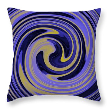 You Are Like A Hurricane Throw Pillow by Bill Cannon