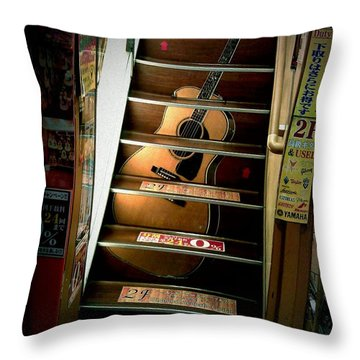 You Can Buy A Guitar Here Throw Pillow