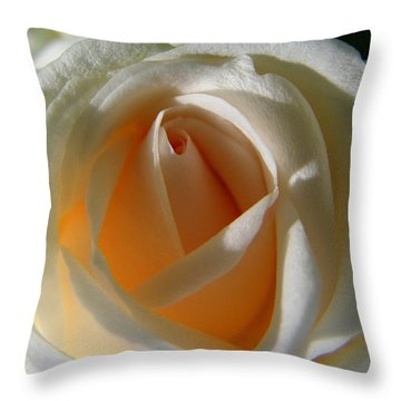 You Light Up My Life Throw Pillow by Judy Wanamaker
