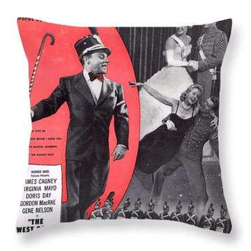You Love Me Throw Pillow by Mel Thompson