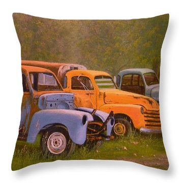 You Rest You Rust Throw Pillow